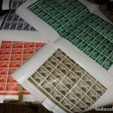 Sellos: 4X75 SAHARA ESPAÑOL EDIFIL 193,194,195,196 1 OCTUBRE 1961 XXV ANIVERSARIO EXALTACION CAUDILLO. Lote 234377470