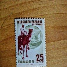 Sellos: TANGER - VALOR FACIL 25 CTS - TELEGRAFO ESPAÑOL - HUÉRFANOS. Lote 234382385