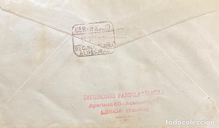 Sellos: GUINEA ESPAÑOLA, CARTA SOBRE PRIMER DÍA DEL AÑO 1953 - Foto 2 - 234627520