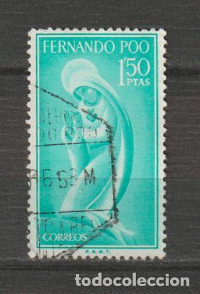 FERNANDO POO. Nº 183. AÑO 1960. IMAGEN DE LA VIRGEN. USADO. (Sellos - España - Colonias Españolas y Dependencias - África - Fernando Poo)