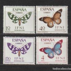 Timbres: IFNI. Nº 221/24*. AÑO 1966. DÍA DEL SELLO. NUEVO CON FIJASELLOS.. Lote 235507850
