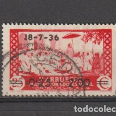 Sellos: MARRUECOS. Nº 161. AÑO 1936. SELLO Nº 139 - HABILITADO. USADO.. Lote 235699230