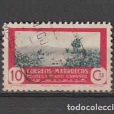 Sellos: MARRUECOS. Nº 331. AÑO 1951. CAZA Y PESCA. USADO.. Lote 235729505