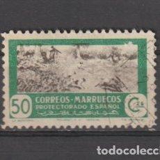 Sellos: MARRUECOS. Nº 332. AÑO 1951. CAZA Y PESCA. USADO.. Lote 235729855