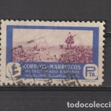 Francobolli: MARRUECOS. Nº 333. AÑO 1951. CAZA Y PESCA. USADO.. Lote 235730090
