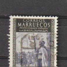 Sellos: MARRUECOS. Nº 412. AÑO 1955. EXALTACIÓN AL TRONO DE S.A. EL JALIFA. USADO.. Lote 235817375