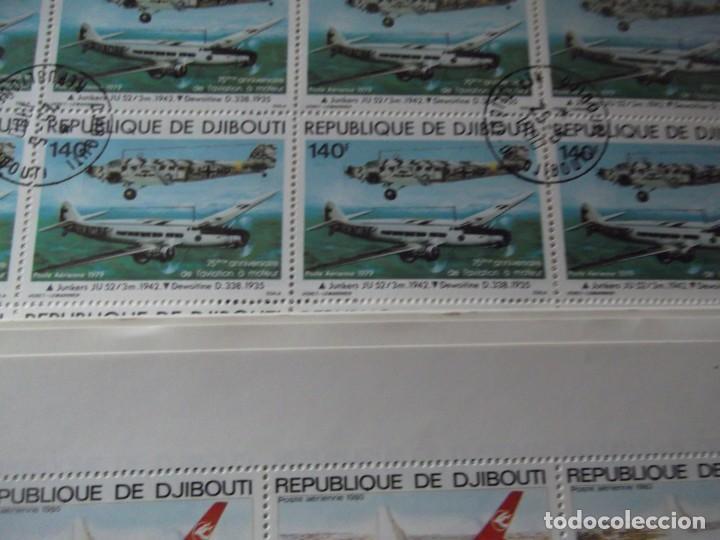 Sellos: 7 pliegos enteros de sellos nuevos ( matasellados de cortesia) - Foto 5 - 235843820