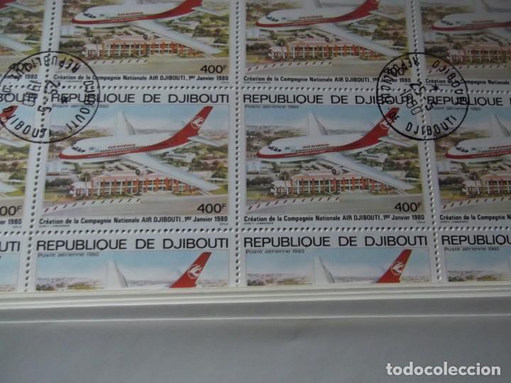 Sellos: 7 pliegos enteros de sellos nuevos ( matasellados de cortesia) - Foto 6 - 235843820