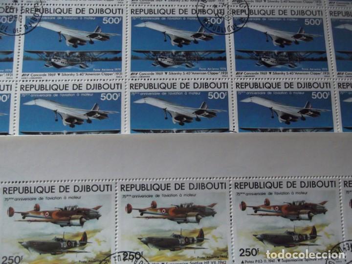 Sellos: 7 pliegos enteros de sellos nuevos ( matasellados de cortesia) - Foto 7 - 235843820