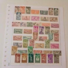 Sellos: GUINEA 17 SERIES COMPLETAS DES DE 1951 AL 1959 EN NUEVO** VALOR 70,00 EUROS. Lote 235984655