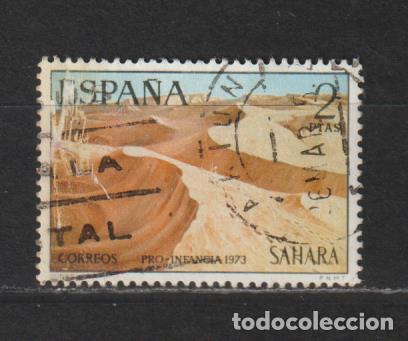 SAHARA. Nº 310. AÑO 1973. PRO INFANCIA - PINTURAS. USADO. (Sellos - España - Colonias Españolas y Dependencias - África - Sahara)