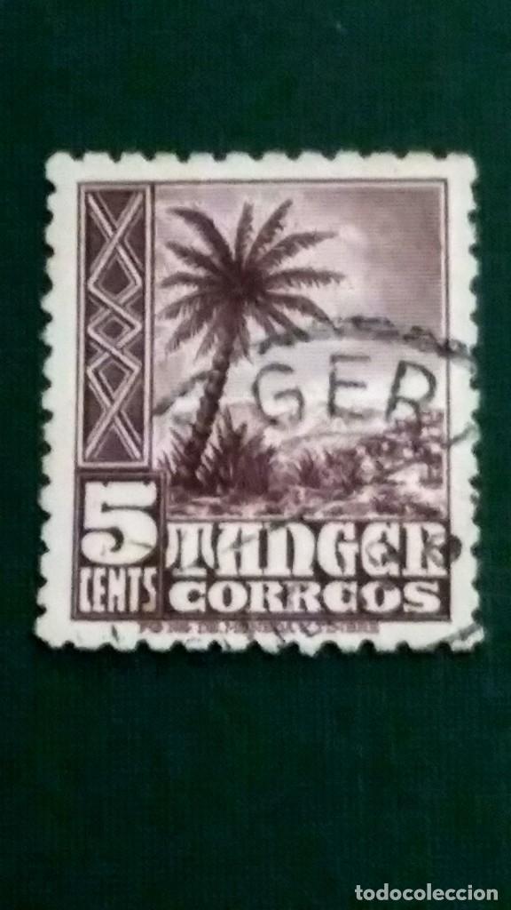 SELLO TÁNGER EDIFIL 153. INDÍGENAS Y PAISAJES 1948-51. USADO. (Sellos - España - Colonias Españolas y Dependencias - África - Tanger)