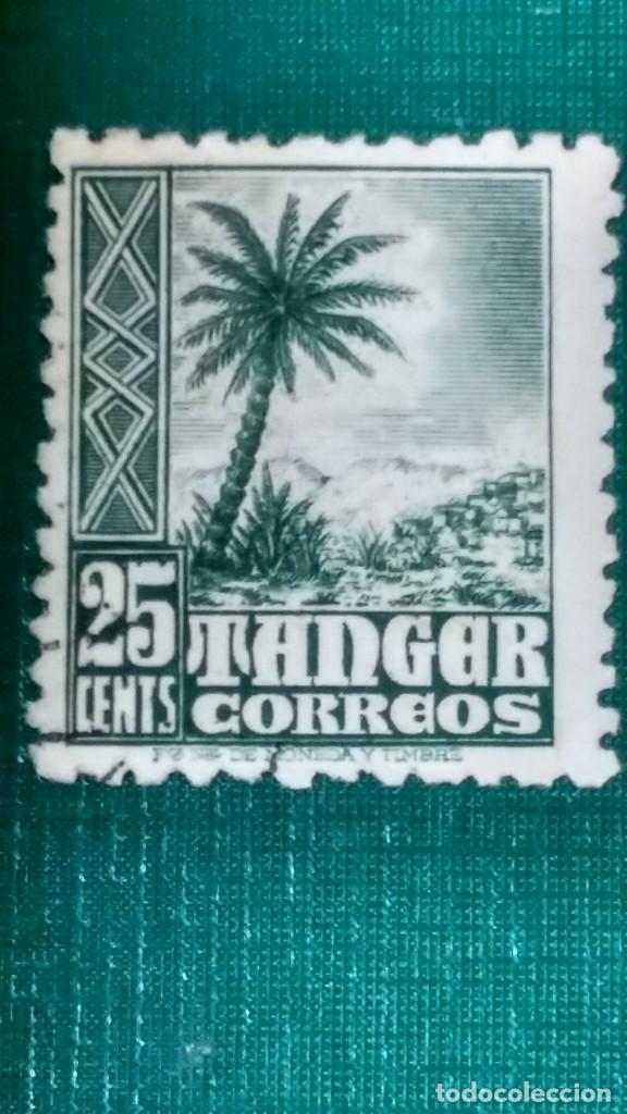 SELLO TÁNGER EDIFIL 156. INDÍGENAS Y PAISAJES 1948-51. USADO. (Sellos - España - Colonias Españolas y Dependencias - África - Tanger)