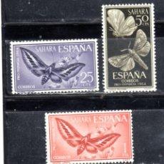 Sellos: ED Nº 225/27** SAHARA SERIE COMPLETA. Lote 236542515
