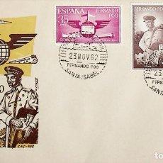 Sellos: 1962 FERNANDO POO FDC DIA DEL SELLO. Lote 236777165