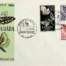 Sellos: 1964 SAHARA ESPAÑOL FDC PRO INFANCIA. Lote 236800855
