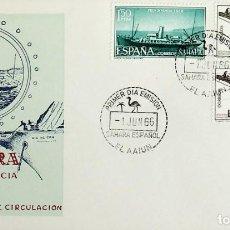 Sellos: 1966 SAHARA ESPAÑOL FDC PRO INFANCIA. Lote 236802045