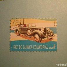 Sellos: GUINEA ECUATORIAL - COCHES DE ÉPOCA - RAILTON 1936.. Lote 236876525