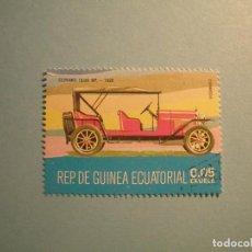 Sellos: GUINEA ECUATORIAL - COCHES DE ÉPOCA - CEIRAND 15/20 HP. - 1920.. Lote 236878270