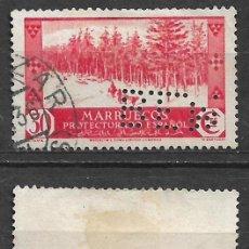 Sellos: ESPAÑA MARRUECOS 1935 EDIFIL 153 PERFORADO B E M - 19/20. Lote 237424290