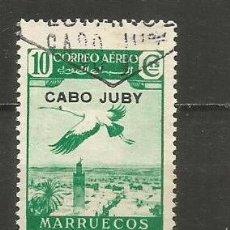 Sellos: CABO JUBY EDIFIL NUM. 103 USADO. Lote 237661275