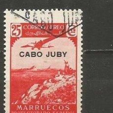 Sellos: CABO JUBY EDIFIL NUM. 104 USADO. Lote 237661330