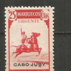 Sellos: CABO JUBY EDIFIL NUM. 132 USADO. Lote 237661950