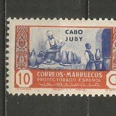 Sellos: CABO JUBY EDIFIL NUM. 154 USADO. Lote 237662700