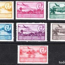 Sellos: 1951 SERIE BÁSICA GUINEA EDIFIL 298/304 NUEVOS GOMA ORIGINAL SIN FIJASELLOS. Lote 238300145