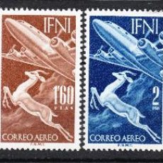 Sellos: 1953 SERIE BÁSICA COMPLETA IFNI EDIFIL 89/94 **. Lote 238415355