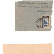 Sellos: CARTA PROTECTORADO ESPAÑOL MARRUECOS - PINOSO - ALICANTE - 1955 - RINCÓN DEL MEDIK. Lote 239401440