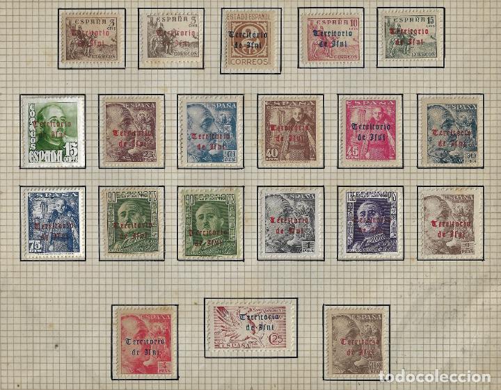 IFNI - EDIFIL 37-56 - SELLOS DE ESPAÑA 1948 - SOBRECARGADOS - NUEVOS - CON FIJASELLOS (Sellos - España - Colonias Españolas y Dependencias - África - Ifni)