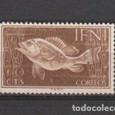Selos: IFNI. Nº 102 (*). AÑO 1953. DÍA DEL SELLO. NUEVO SIN GOMA.. Lote 240738630