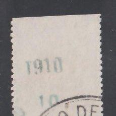Sellos: RIO DE ORO, 1910 EDIFIL Nº 56MP. MARGEN DEL PLIEGO CON HABILITACIÓN.. Lote 240921300