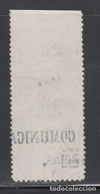 Sellos: RIO DE ORO, 1910 EDIFIL Nº 56MP. Margen del pliego con Habilitación. - Foto 2 - 240921300