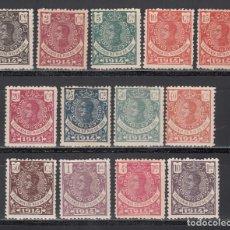 Selos: RIO DE ORO, 1914 EDIFIL Nº 78 / 90 /*/. Lote 241013035