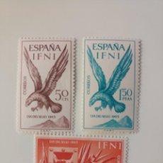 Sellos: DIA DEL SELLO DEL AÑO 1965 EDIFIL 215/217 EN NUEVO **. Lote 253532580