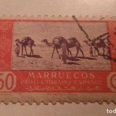Sellos: SELLO DE MARRUECOS 50 CTS PROTECTORADO ESPAÑOL SELLADO. Lote 243384635