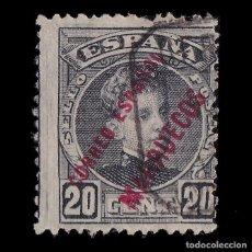 Sellos: MARRUECOS.1903-09.HABILITADO.20C.USADO.EDIFIL.6. Lote 244742825