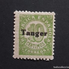 Sellos: SELLO TANGER - 1939 - ED. 115 - HABILITADO - NUEVO CON LEVE SEÑAL FIJASELLO /*/. Lote 244894740