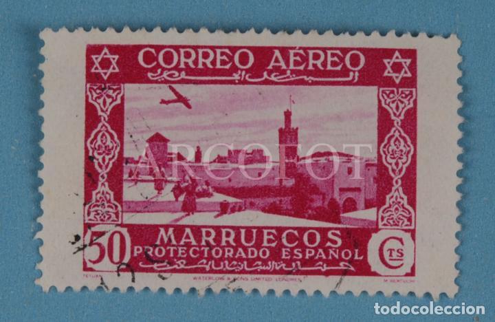 SELLO CORREO AÉREO 50 CTS.- MARRUECOS - PROTECTORADO ESPAÑOL - TETUÁN - EL DE LAS FOTOS (Sellos - España - Colonias Españolas y Dependencias - África - Marruecos)