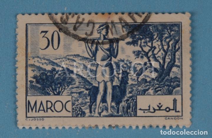SELLO CORREOS - MAROC - 30 C - EL DE LAS FOTOS (Sellos - España - Colonias Españolas y Dependencias - África - Marruecos)