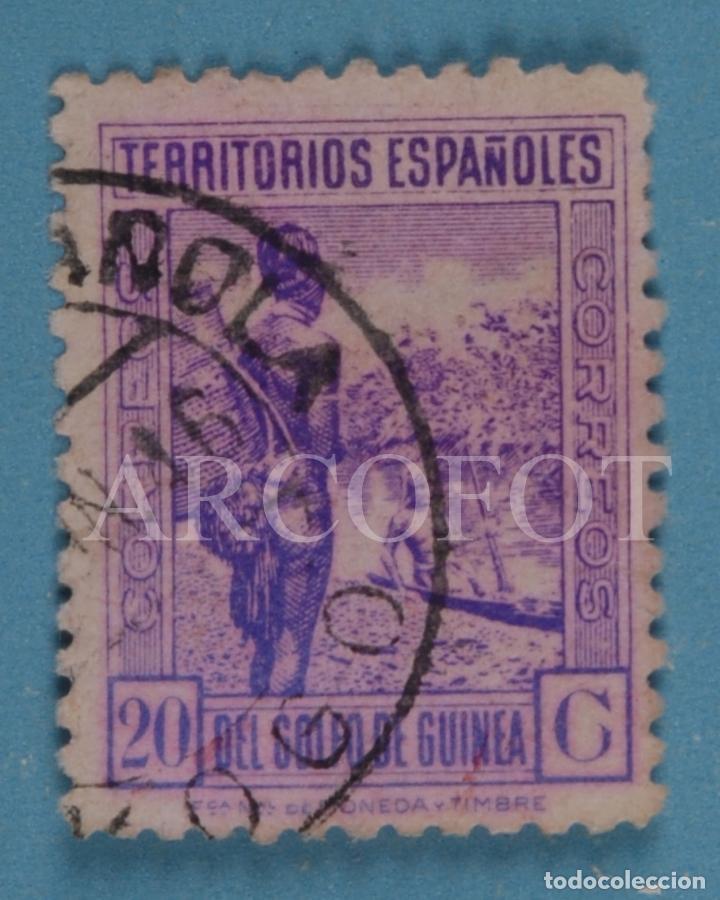 CORREOS - TERRITORIOS ESPAÑOLES DEL GOLFO DE GUINEA - 20 C - EL DE LA FOTO (Sellos - España - Colonias Españolas y Dependencias - África - Guinea)