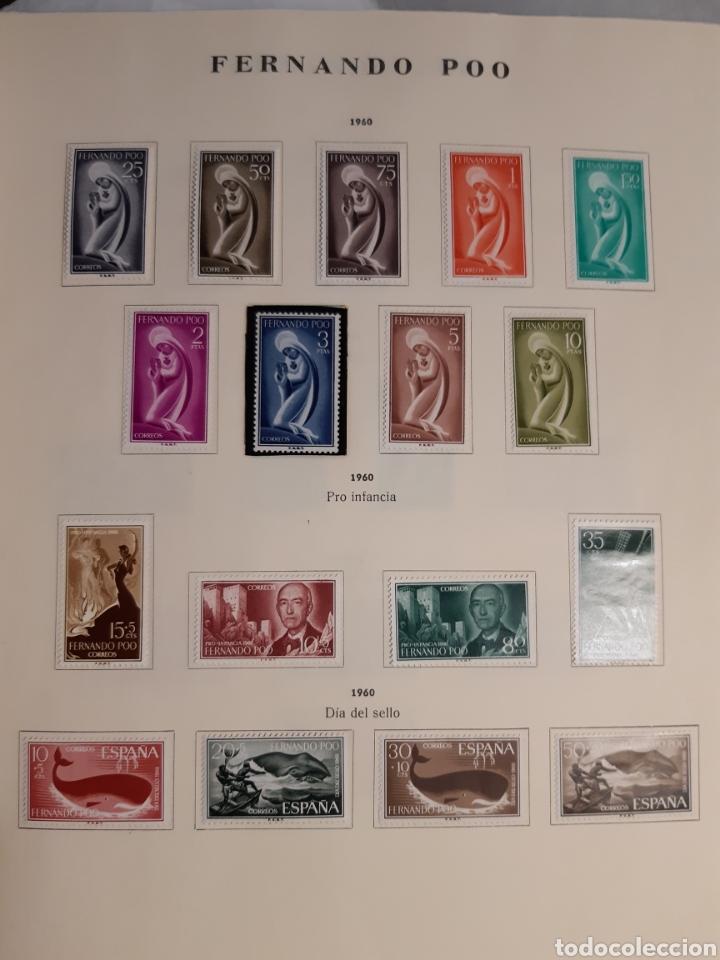 Sellos: SELLOS DE COLONIAS ESPAÑOLAS. AFRICA OCCIDENTAL, GUINEA, FERNANDO POO, IFNI, SAHARA,, RIO MUNI - Foto 5 - 245588250