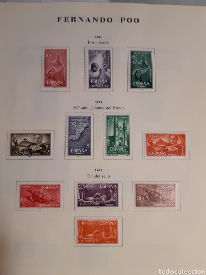 Sellos: SELLOS DE COLONIAS ESPAÑOLAS. AFRICA OCCIDENTAL, GUINEA, FERNANDO POO, IFNI, SAHARA,, RIO MUNI - Foto 6 - 245588250