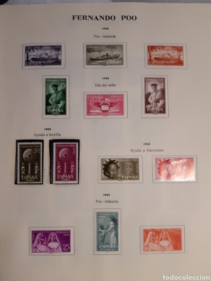 Sellos: SELLOS DE COLONIAS ESPAÑOLAS. AFRICA OCCIDENTAL, GUINEA, FERNANDO POO, IFNI, SAHARA,, RIO MUNI - Foto 7 - 245588250