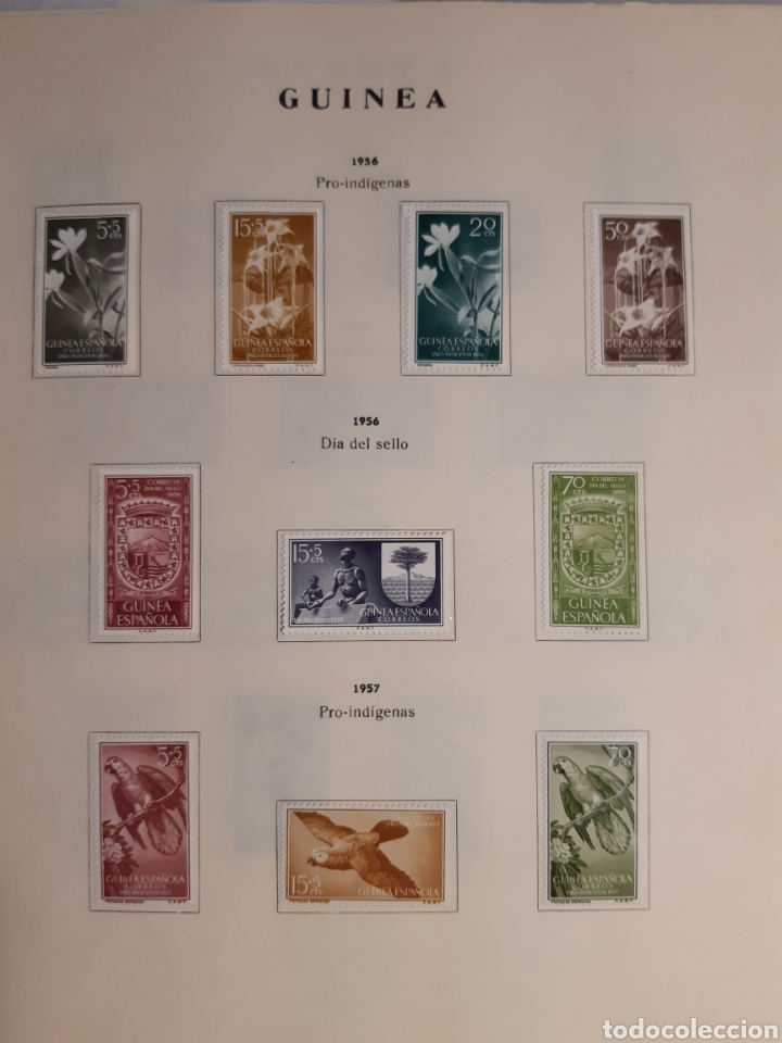 Sellos: SELLOS DE COLONIAS ESPAÑOLAS. AFRICA OCCIDENTAL, GUINEA, FERNANDO POO, IFNI, SAHARA,, RIO MUNI - Foto 14 - 245588250