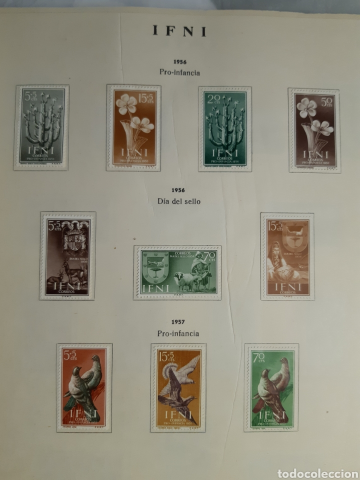 Sellos: SELLOS DE COLONIAS ESPAÑOLAS. AFRICA OCCIDENTAL, GUINEA, FERNANDO POO, IFNI, SAHARA,, RIO MUNI - Foto 23 - 245588250