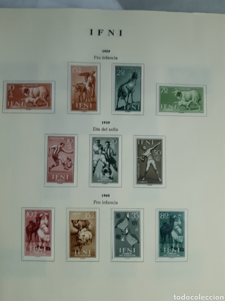 Sellos: SELLOS DE COLONIAS ESPAÑOLAS. AFRICA OCCIDENTAL, GUINEA, FERNANDO POO, IFNI, SAHARA,, RIO MUNI - Foto 25 - 245588250
