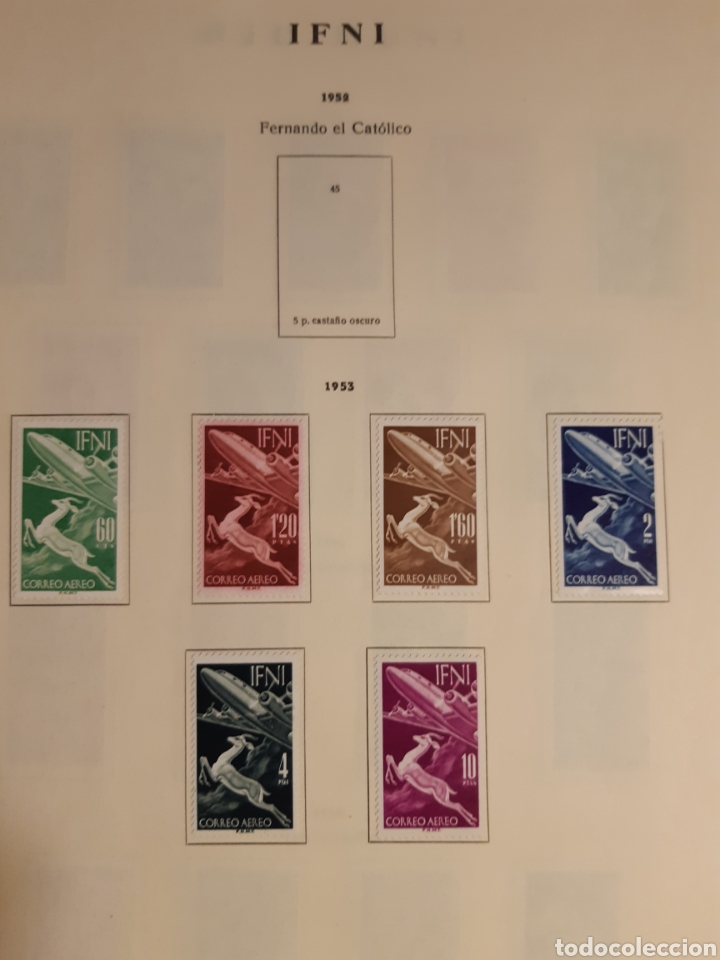 Sellos: SELLOS DE COLONIAS ESPAÑOLAS. AFRICA OCCIDENTAL, GUINEA, FERNANDO POO, IFNI, SAHARA,, RIO MUNI - Foto 31 - 245588250